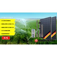 10 Hp Güneş Enerjili Tarımsal Sulama Sistemi