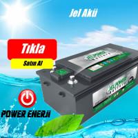 Jel Power 200 AH Jel Akü 12 V Güneş Paneli için Rüzgar Türbini için Akü