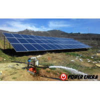 7.5 Hp Güneş Enerjili Tarımsal Sulama Sistemi