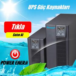 1kVA - 2kVA - 3kVA Kesintisiz Güç Kaynakları UPS TESCOM