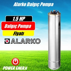 1.5 Hp (Beygir) Alarko Dalgıç Pompa Motor Fiyatı
