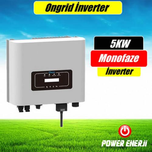 Deye 5kw MPPT Monofaze Ongrid İnverter Fiyatı