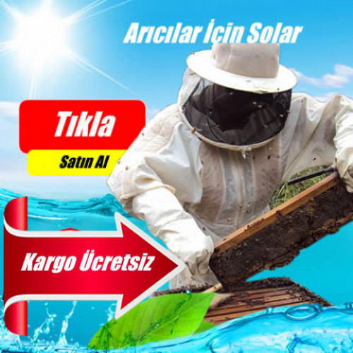 Arıcılar İçin Güneş Enerjisi Elektrik Üretimi 300 Watt