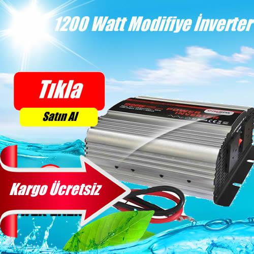 1200 Watt Lexron Marka 12/24  Volt  Modifiye Sinüs İnverter Fiyatı