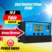 Güneş Paneli Akü Şarj Kontrol Cihazı 10 Amper Fiyatı