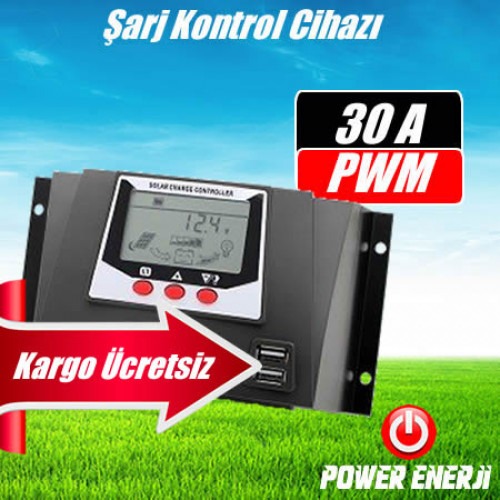 Güneş Paneli Akü Şarj Kontrol Cihazı 30 Amper Fiyatı
