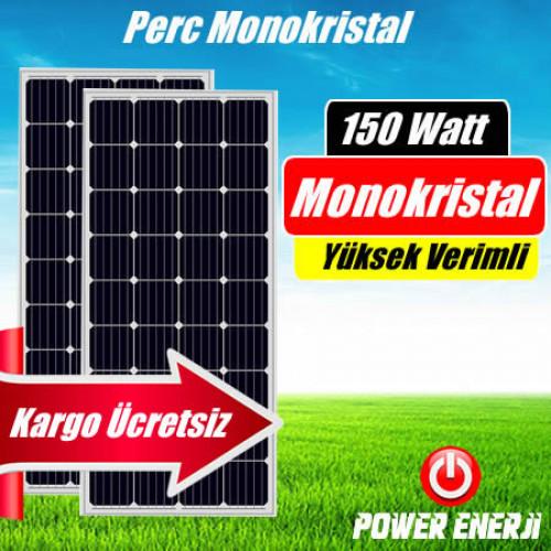150 Watt Perc Monokristal (Yüksek Verimli) Güneş Paneli Fiyatı