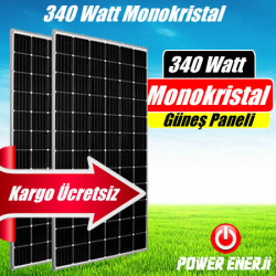 340 Watt Perc Monokristal (Yüksek Verimli) Güneş Paneli Fiyatı