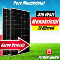 410 Watt Perc Monokristal (Yüksek Verimli) Güneş Paneli Fiyatı