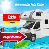 340 watt Karavanlar İçin Güneş Enerjisi Elektrik Üretimi Paketi