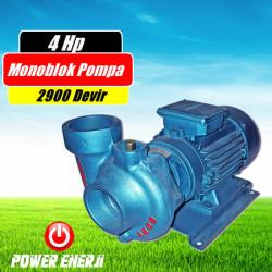 4 Hp 380V Trifaze Monoblok Santrifuj Pompa Fiyatı - 2900 Devir - Döküm Pompa