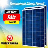 165 Watt Tommatech Polikristal Güneş Paneli Fiyatları