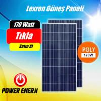 170 Watt 12 volt Polikristal Lexron Güneş Paneli Fiyatı
