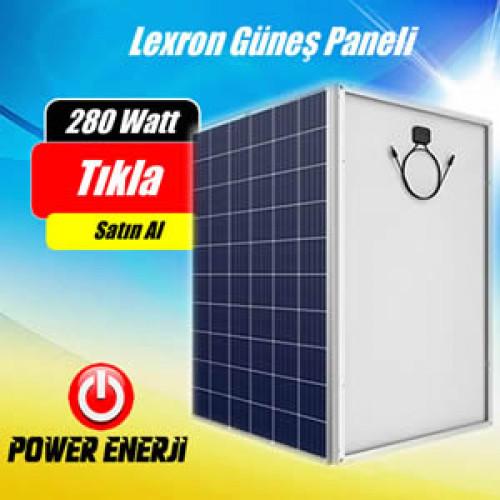 280 Watt Polikristal Lexron Güneş Paneli Fiyatı