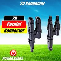 2li Solar Güneş Paneli Paralel Konnectörü Mc4 2li Fiyatı
