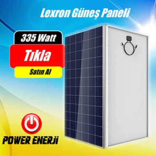 335 Watt Lexron Polikristal Güneş Paneli Fiyatı