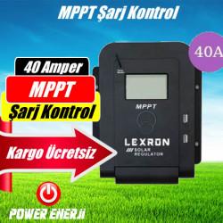40A Mppt Şarj Kontrol Cihazı (Güneş Paneli Regülatörü) Fiyatı