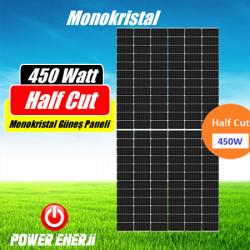 450 Watt Half Cut Monokristal Güneş Paneli Fiyatı