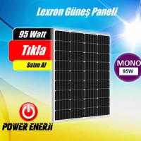 95 Watt Lexron Monokristal Güneş Paneli Fiyatı