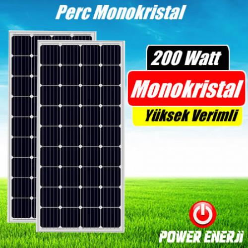 200 Watt Perc Monokristal (Yüksek Verimli) Güneş Paneli Fiyatı