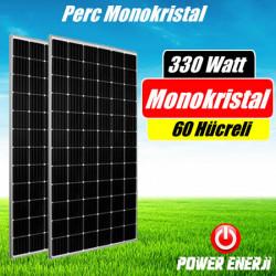 330 Watt Perc Monokristal (Yüksek Verimli) Güneş Paneli Fiyatı