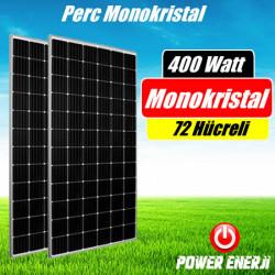 400 Watt Perc Monokristal (Yüksek Verimli) Güneş Paneli Fiyatı