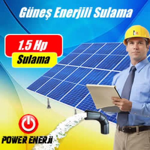 1.5 Hp (Beygir) Pompa  Güneş Enerjili Tarımsal Sulama Sistemi Fiyatı