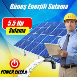 5.5 HP (Beygir) Pompa Güneş Enerjili Sulama Sistemi Fiyatı