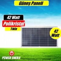42 Watt Güneş Paneli Fiyatı