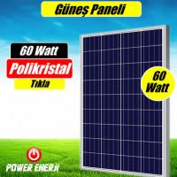 60 Watt Güneş Paneli Fiyatı