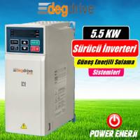 5.5 Kw Deg Drive Sürücü İnverteri Fiyatı (Güneş Enerjili Sulama Sürücüsü)