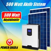 500 Watt Akıllı Solar Sistem Güneş Enerjisi Elektrik Üretimi Fiyatı
