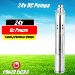 24v Dc Dalgıç Pompa Hobi Bahçesi Sulama için Güneş Paneli ile Çalışan 24volt Solar Su Pompası Fiyatı
