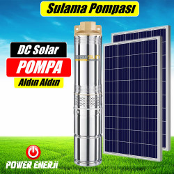 48 Volt Dc Solar pompa (Bahçe Sulama)