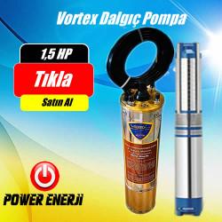 1,5 Hp Beygir 1,1 Kw  Vortex Dalgıç Pompa Fiyatı