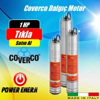 1 Hp 0,75 Kw Monofaze 220 V -380 V Coverco Dalgıç Pompa Motoru Fiyatı