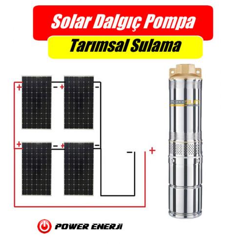 48 Volt Dc Solar pompa + 4 Adet 280 Watt Güneş Paneli Bahçe Sulama Seti Fiyatı