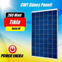 265 Watt CWT Güneş Paneli Polikristal Fiyatı