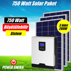 750 Watt Akıllı Solar Paket Sistem Fiyatı