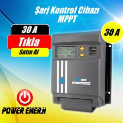 30A (Amper) MPPT Güneş Paneli Şarj Kontrol Cihazı Fiyatı
