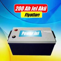 200 Ah 12 Volt Jel Aküler (5)