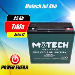 22 Ah 12 Volt Jel Akü Elektrikli Bisiklet, Elektrikli Araç Aküsü