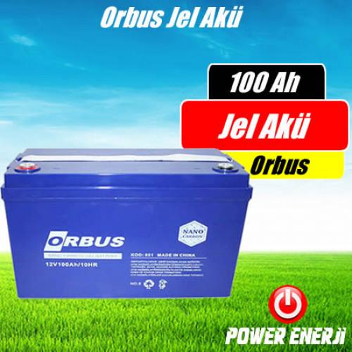 100 Ah Orbus Nano Jel Karbon Akü Özellikleri ve Fiyatı