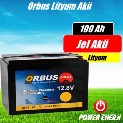Orbus Lityum İyon 100 Amper Akü Özellikleri ve Fiyatı
