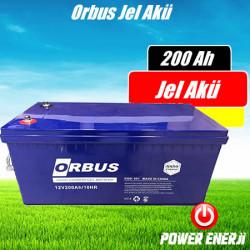 200 Ah Orbus Nano Jel Karbon Akü Özellikleri ve Fiyatı