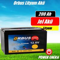 Orbus Lityum İyon 200 Amper Akü Özellikleri ve Fiyatı