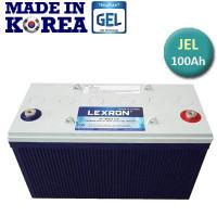 100 AH 12 Volt Lexron Jel Akü Deep Cycle (Güney Kore )