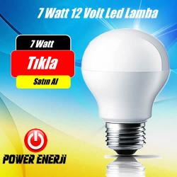 7 watt 12 volt  Led Ampul ( Solar Lamba )