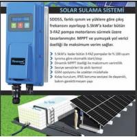 1 HP 0.75 kW  TESCOM Güneş Enerjili Tarımsal Sulama Solar Pompa Sürücü İnverteri Fiyatları