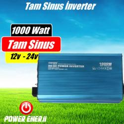 1000 Watt 12 Volt / 24 Volt Tam Sinüs İnverter Fiyatı